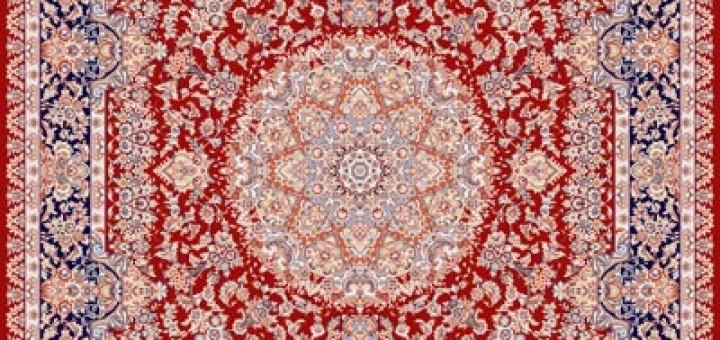فرش گلسار روناسی از کلکسیون کشمیر ساوین 500 شانه تراکم 1200