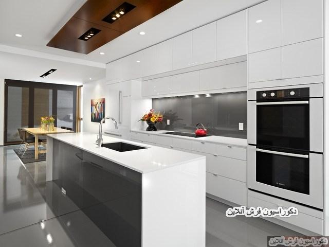 دکوراسیون آشپزخانه اوپن
