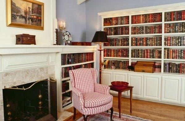 ۲۰ ایده برای داشتن یک کتابخانه در منزل