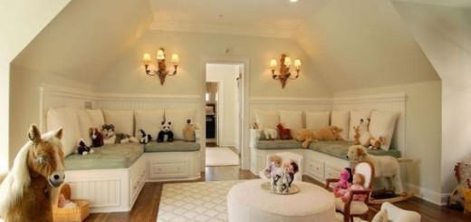 Beautiful-girls-playroom-idea-with-plush-seating