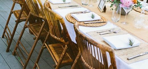 چیدمان میز مهمانی
