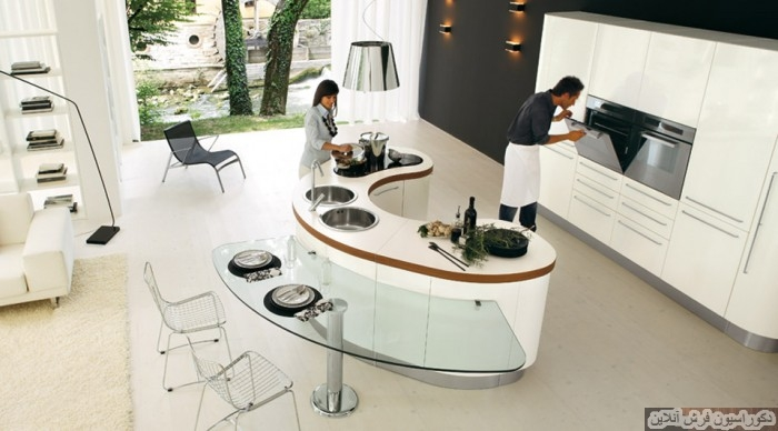 آشپزخانه جزیره ای