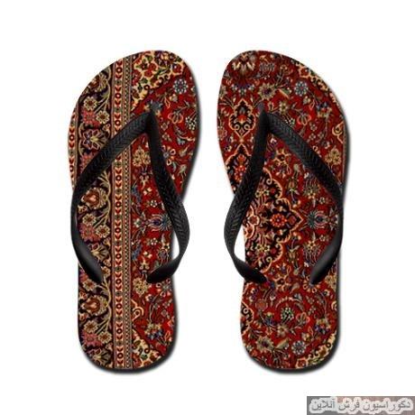 دمپایی طرح فرش ایرانی