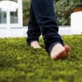 comfortable-green-grass-rug