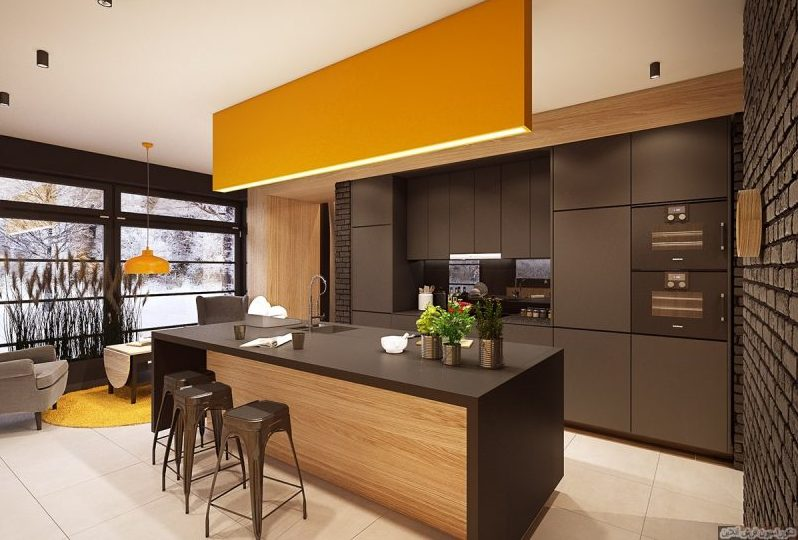 دکوراسیون آشپزخانه مدرن