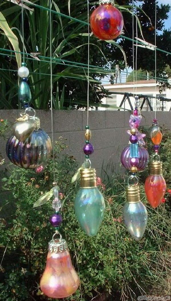 خلاقیت در دکور باغچه