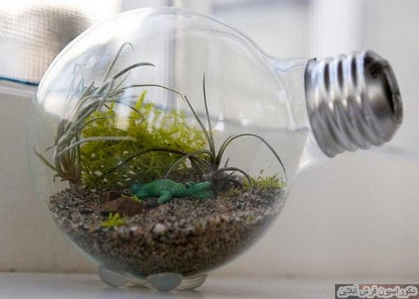 خلاقیت با لامپ