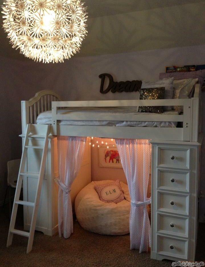 دکوراسیون اتاق خواب دختر
