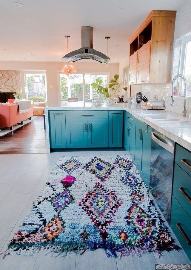 فرش آشپزخانه مناسب