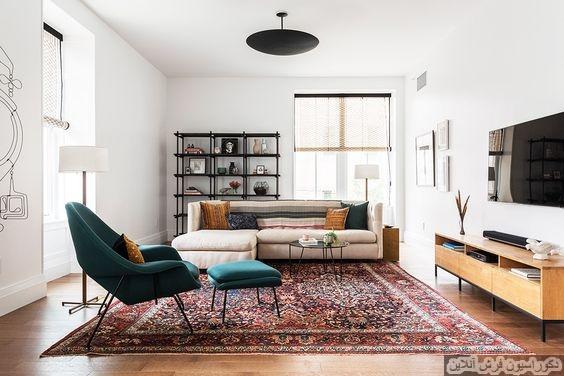 مدل فرش متناسب با دکوراسیون