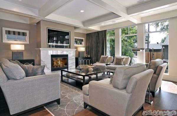 ایجاد یک فضای داخلی راحت با استفاده از رنگهای خنثی