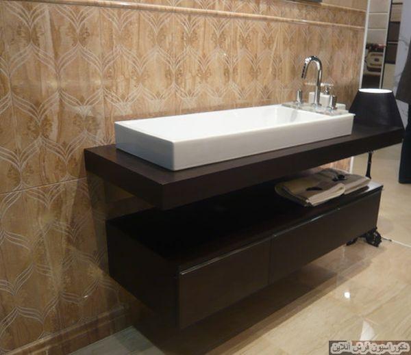 ۲۰ کابینت و سینک دیواری برای سرویس بهداشتی