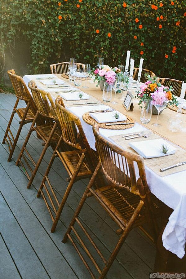 10 ایده ی خلاقانه برای میز های مهمانی