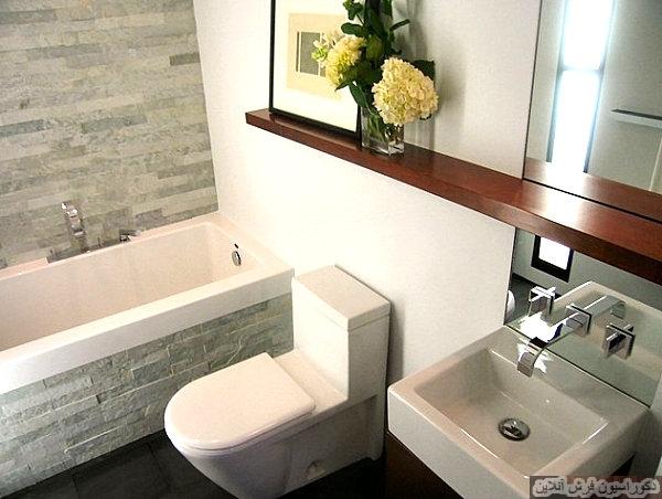 چطور یک حمام کوچک را دکوراسیون کنیم