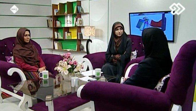 صحبتهای آرزو خسروی در برنامه کافه سوال شبکه دوم سیما(روز دوم)