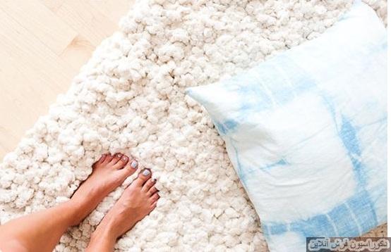ساخت فرش و پادری با کمترین هزینه در خانه